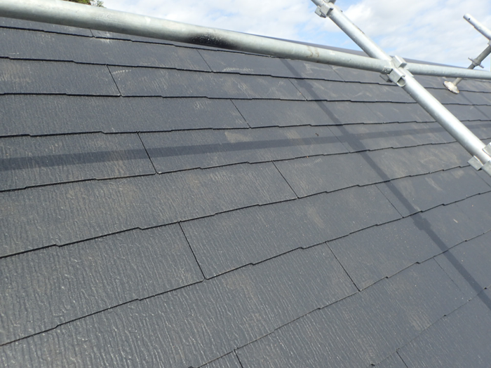 川崎市川崎区川中島 屋根葺き替え工事と天窓撤去完了