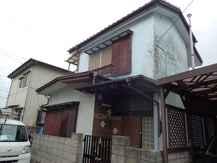 平塚市東中原 台風被害を受けたお住まい