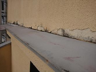 平塚市大神にて築30年以上経過し一度もメンテナンスをしていないお住まいは雨漏りしており室内がカビてしまっていました