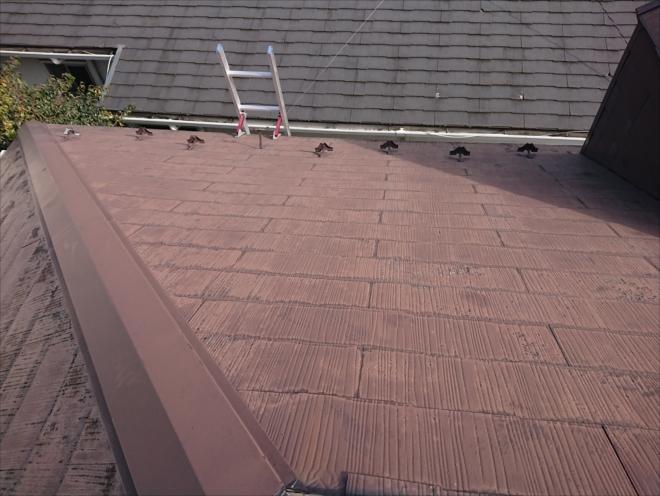 塗装でのメンテナンスを長年していない化粧スレート屋根
