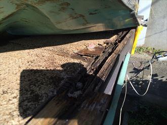 寒川町一之宮で剥がれた板金屋根は、下地の腐食が原因でした