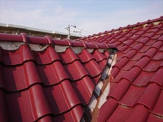 かなりの急勾配の屋根