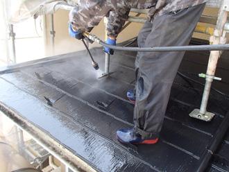 足柄上郡中井町井ノ口 屋根塗装 高圧洗浄