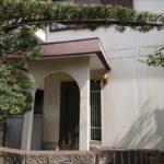 築40年経過した玄関廻りの様子