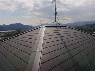 葺き替え直後の屋根