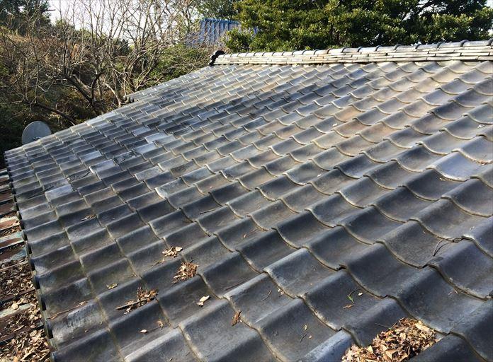 築年数の経過した瓦屋根の点検