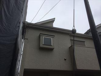 風の当たり易い環境にある屋根