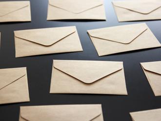 見知らぬ手紙