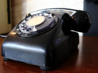 実は今でも使える黒電話