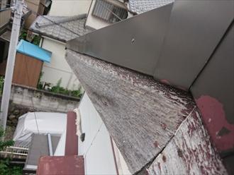 破風板も屋根同様紫外線や雨水など過酷な環境下におかれている
