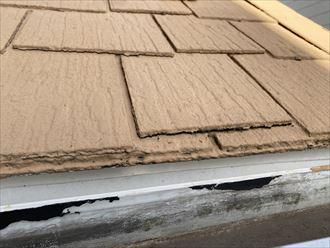 スレート屋根反り