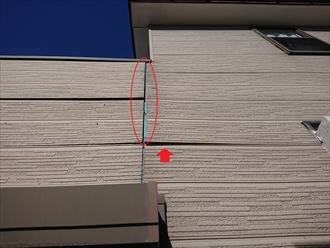 大和市上草柳にて雨漏り調査、雨漏りは屋根からだけではなく外壁からも起こりえます