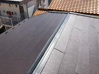 屋根カバー工法 貫板設置