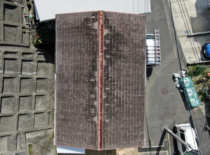 傷みすぎたスレート屋根