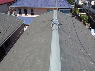 屋根カバー工事を検討しているN様邸の屋根はパミールです