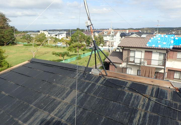 令和元年東日本台風で被災してしまったスレート屋根