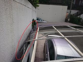 ポリカーボネート板が手に入らない場合はカーポート自体の交換が必要