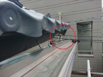 雨樋修理が必要な歪み