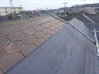 屋根カバー工法にも使用可能
