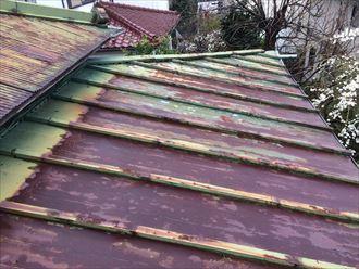 錆び過ぎた屋根