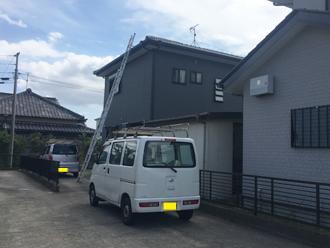 令和元年房総半島台風で瓦が落下してしまった邸宅の屋根点検