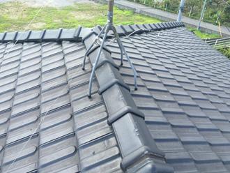屋根葺き替え 工事前