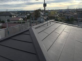 葺き替え工事後 金属屋根