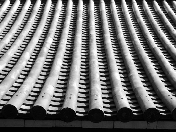 お寺で使用される平瓦