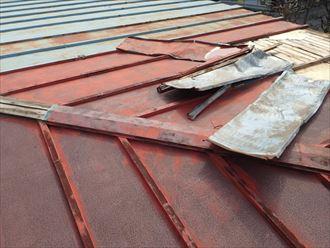 トタン屋根の錆