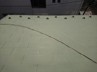 一文字葺きで綺麗な屋根に見えますが経年での劣化が必ずあります
