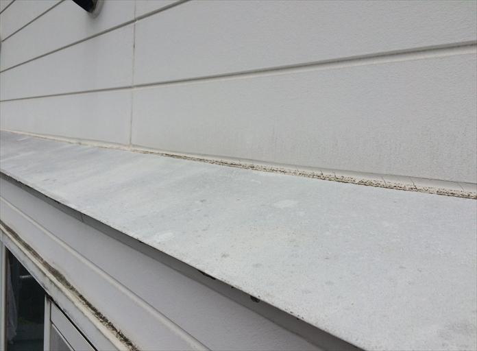 庇とサイディング壁は雨漏りと密接に関わっている