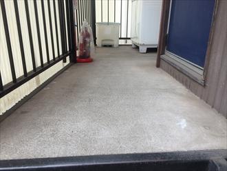 アパート共用部の床は防水層を作りましょう