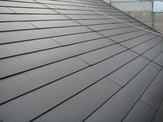 横葺き屋根材