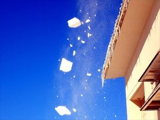 落雪の危険性