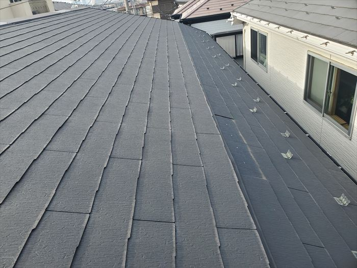 屋根の傾斜が変わる腰折れ屋根