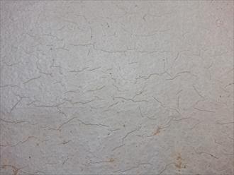 表面に爪で引掻いた跡がある場合は防水層が傷んでいる可能性が高い