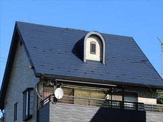 複雑な屋根形状