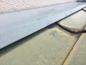 雨押えと屋根材の隙間から雨漏りすることもあります