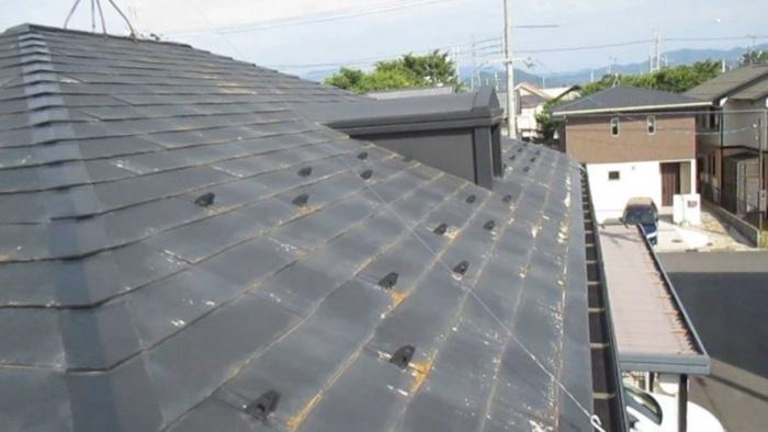 アスベストが含まれるスレート屋根