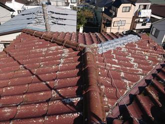 台風15号で一部被災したかわらUの屋根