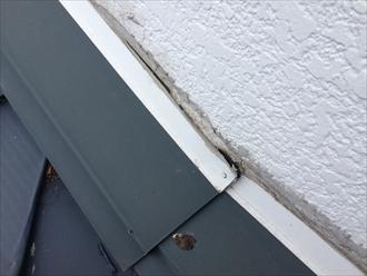 寒川町倉見で雨漏りの原因を調査、屋根か外壁か原因が分からないときは散水試験