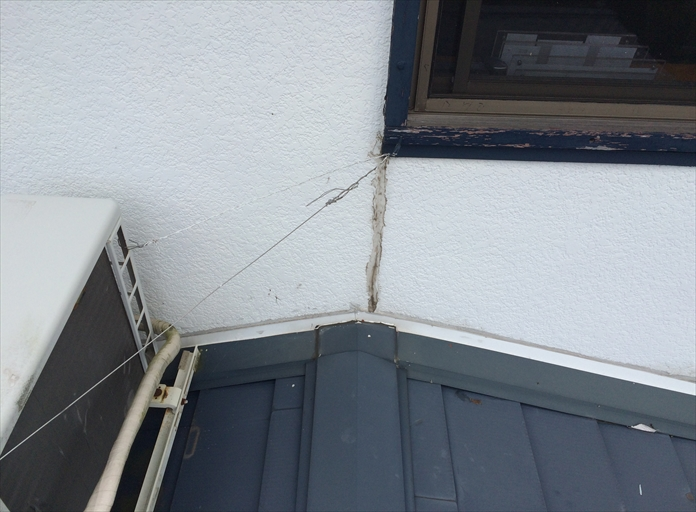 屋根と外壁の取合いは雨漏りに繋がりやすい