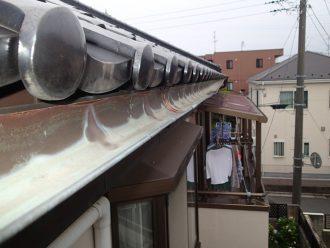 銅製の軒樋