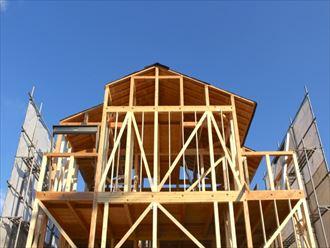 木造住宅の屋根構造