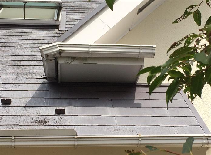 急勾配屋根の点検