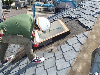 天窓の交換工事