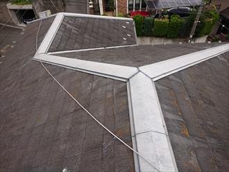 複雑な形状の多面体屋根