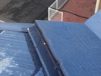 棟板金の釘抜けは棟板金交換工事だけが解消できる