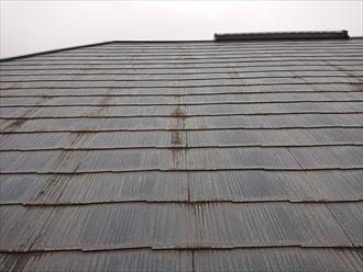 塗装メンテナンスをして10年経った屋根