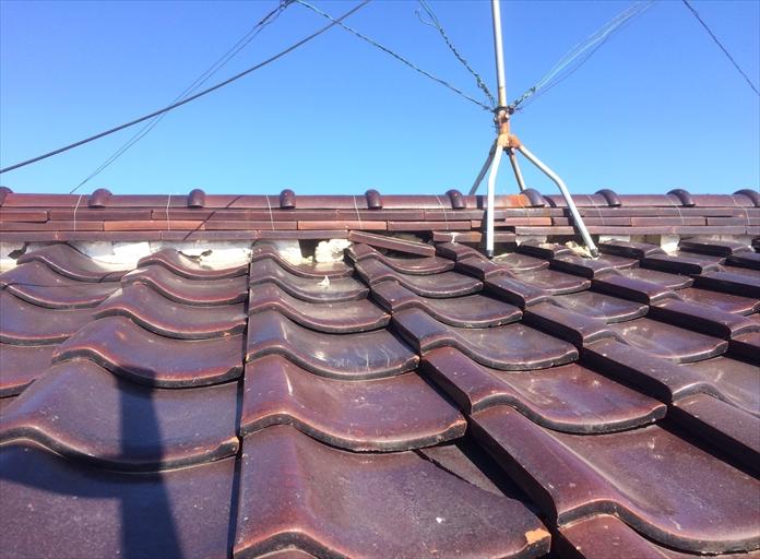 瓦屋根は手入れが必要です
